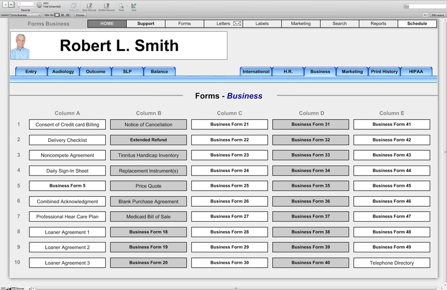 Business Forms - Office Forms - HearForm